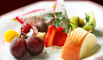 Assorted fruit ¥1,500 (excluding tax)~
